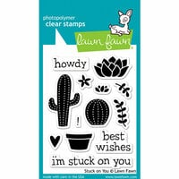 Lawn Fawn - Clear Photopolymer Stamps - Stuck On You