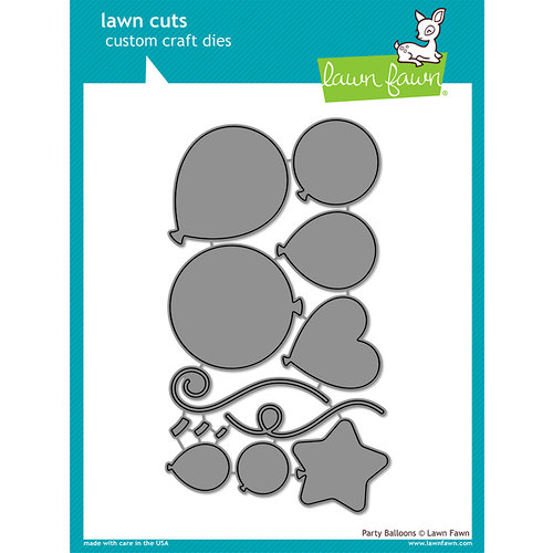 Lawn Fawn - Lawn Cuts - Dies - Party Balloons