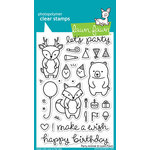 Lawn Fawn - Clear Acrylic Stamps - Party Animal