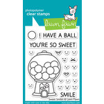 Lawn Fawn - Clear Acrylic Stamps - Sweet Smiles