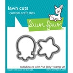Lawn Fawn - Lawn Cuts - Dies - So Jelly Lawn Cuts