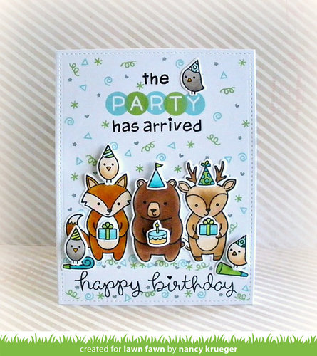 Lawn Fawn Clear Stamps 4x6-rileys Abcs