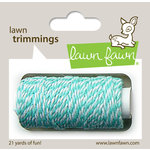 Lawn Fawn - Lawn Trimmings - Bakers Twine Spool - Aquamarine Cord