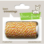 Lawn Fawn - Lawn Trimmings - Bakers Twine Spool - Candy Corn Cord