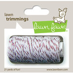 Lawn Fawn - Lawn Trimmings - Bakers Twine Spool - Red Sparkle Cord