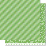 Lawn Fawn - Lets Bokeh in the Snow Collection - 12 x 12 Double Sided Paper - Pine Needle Twist
