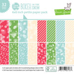 Lawn Fawn - Lets Bokeh in the Snow Collection - 6 x 6 Petite Paper Pack