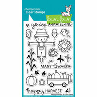 Lawn Fawn - Clear Photopolymer Stamps - Happy Harvest