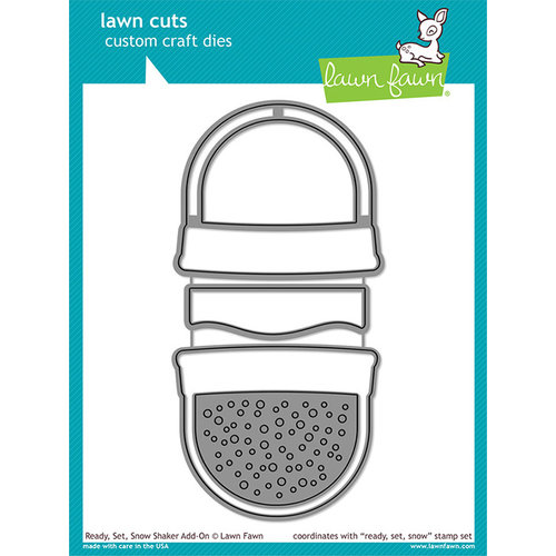 Lawn Fawn - Lawn Cuts - Dies - Ready, Set, Snow Shaker Add-On