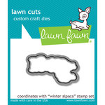 Lawn Fawn - Lawn Cuts - Dies - Winter Alpaca