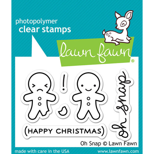 Lawn Fawn - Clear Photopolymer Stamps - Oh Snap