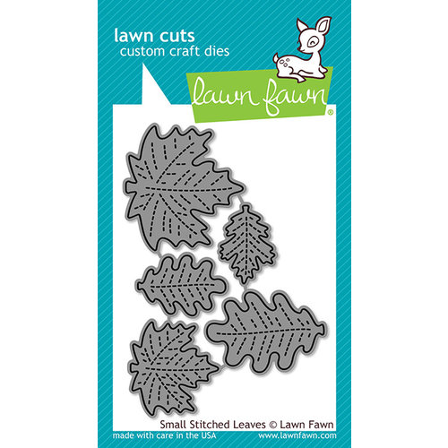 Lawn Fawn - Lawn Cuts - Dies - Small Stitched Leaves
