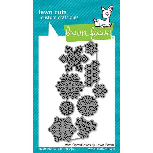 Lawn Fawn - Lawn Cuts - Dies - Mini Snowflakes