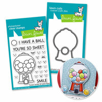 Lawn Fawn - Die and Acrylic Stamp Set - Sweet Smiles Bundle