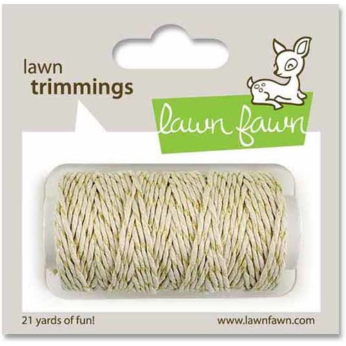 Lawn Trimmings Black Tie Cord Lawn Fawn