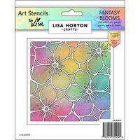 Lisa Horton Crafts - Art Stencils - Fantasy Blooms