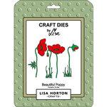 Lisa Horton Crafts - Dies - Beautiful Poppy