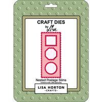 Lisa Horton Crafts - Dies - Slimline - Nested Postage Slims