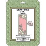 Lisa Horton Crafts - Dies - Slimline - Bouquet Corner