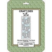 Lisa Horton Crafts - Dies - Slimline - Butterfly Trio