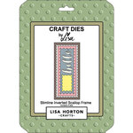 Lisa Horton Crafts - Dies - Slimline - Inverted Scallop Frame