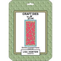 Lisa Horton Crafts - Dies - Slimline - Cracked Frame