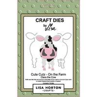 Lisa Horton Crafts - Dies - On The Farm - Clara The Cow
