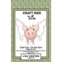 Lisa Horton Crafts - Dies - On The Farm - Peggy The Pig