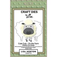 Lisa Horton Crafts - Dies - On The Farm - Sheldon The Sheep