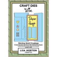 Lisa Horton Crafts - Dies - Slimline - Multi Envelope