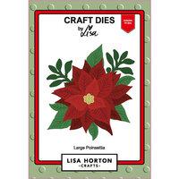 Lisa Horton Crafts - Christmas - Dies - Large Poinsettia