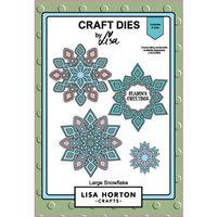 Lisa Horton Crafts - Christmas - Dies - Large Snowflake