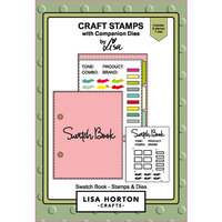 Lisa Horton Crafts - Die and Clear Photopolymer Stamp Set - Swatch Book