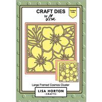 Lisa Horton Crafts - Dies - Large Framed Cosmos