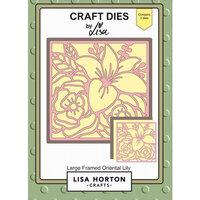 Lisa Horton Crafts - Dies - Large Framed Oriental Lily