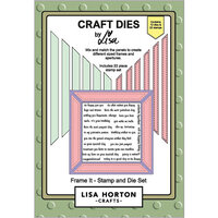 Lisa Horton Crafts - Die and Clear Photopolymer Stamp Set - Frame It