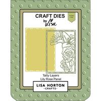 Lisa Horton Crafts - Dies - Tatty Layers - Lily Rose