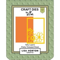 Lisa Horton Crafts - Dies - Tatty Layers - Pretty Tickseed