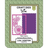 Lisa Horton Crafts - Dies - Tatty Layers - Gerbera Bloom