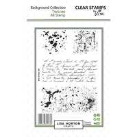 Lisa Horton Crafts - Clear Photopolymer Stamps - Textures