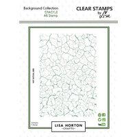 Lisa Horton Crafts - Clear Photopolymer Stamps - Crackle