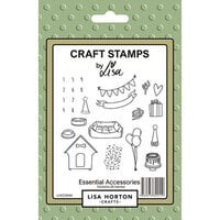 Lisa Horton Crafts - Clear Photopolymer Stamps - Essential Accessories