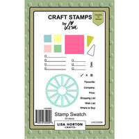 Lisa Horton Crafts - Clear Photopolymer Stamps - Stamp Swatch