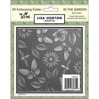 Lisa Horton Crafts - 3D Embossing Folder - In the Garden