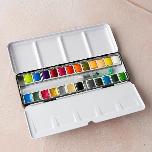 Lisa Horton Crafts - Watercolour Paint Palette - Euphoria