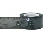 Little B - Decorative Paper Tape - Halloween - Midnight Haunted Scenes - 25mm