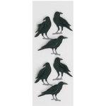 Little B - 3 Dimensional Stickers - Crows - Mini