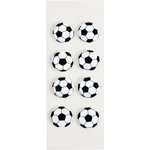 Little B - 3 Dimensional Stickers - Soccer - Mini
