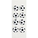 Little B - 3 Dimensional Stickers - Soccer - Mini