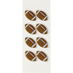 Little B - 3 Dimensional Stickers - Football - Mini